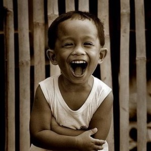 pinoy kid laughing